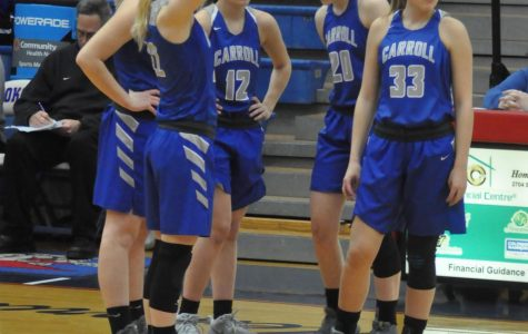 The Senior starting five fell to South Side at the Regional Semifinals in Kokomo on Saturday. Photo by VM Smith.