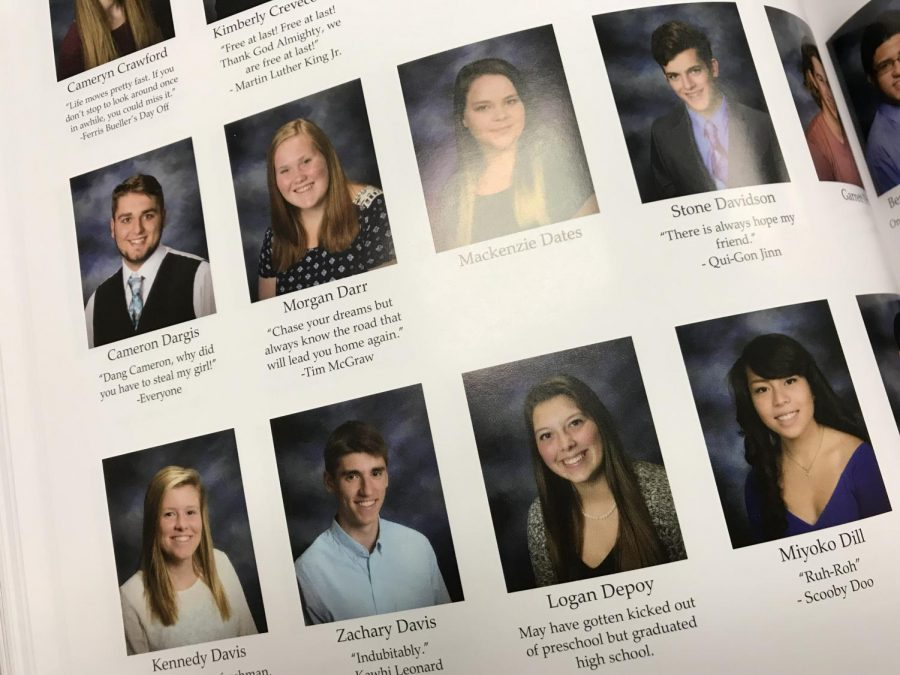 Seniors still getting yearbook quotes, editor in chief says ...