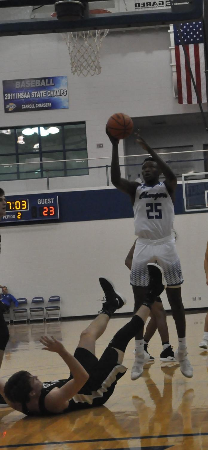 The Chargers' will rely on teamwork and the play of Senior David Ejah in the SAC Tournament.