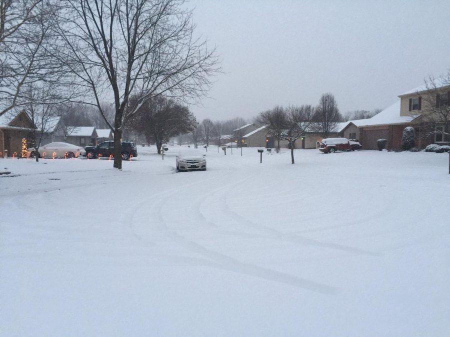 Snowfall not problem ... yet