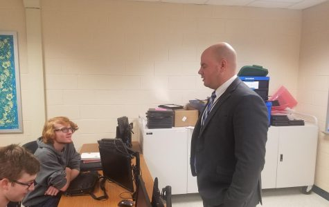 Side Job Lures Mr. Campbell to Classroom