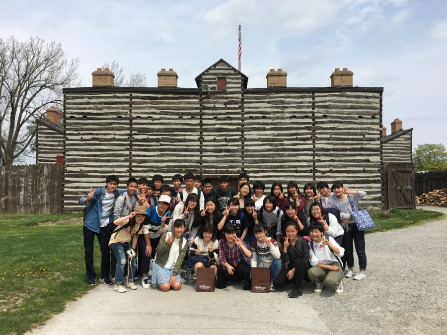 Japanese exchange students to get taste for American life