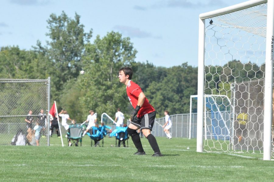 Against 3A #12 Northridge, Charger Goalkeeper Logan Gonzalez recorded a shutout. Photo by VM Smith
