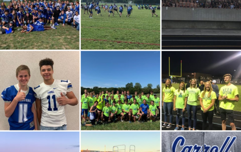 Fall sport teams take over Instagram