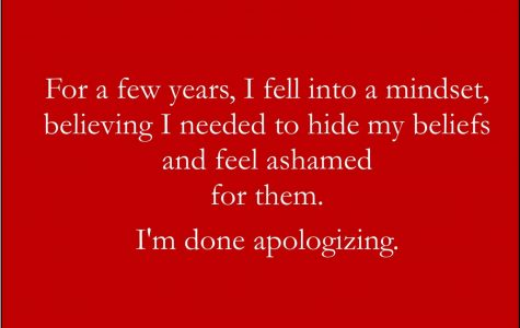 I'm Done Apologizing