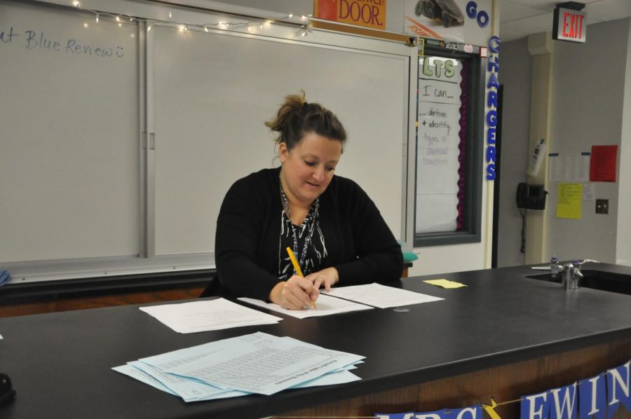 Homework is necessary and helpful, according to Science teacher Mrs. Kristy Ewing.