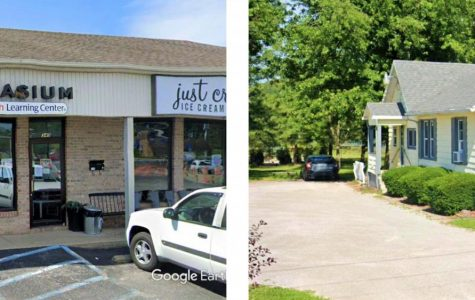 These buildings are two options of tutoring for students in Fort Wayne. On the left is the Fort Wayne section of Mathnasium. On the right is Specialty Tutoring, otherwise known as the