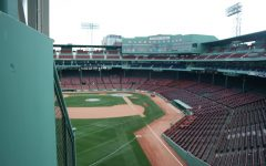 Boston's Fenway Park, home of the Red Sox, remains empty as sports leagues have shuttered during the Coronavirus outbreak.