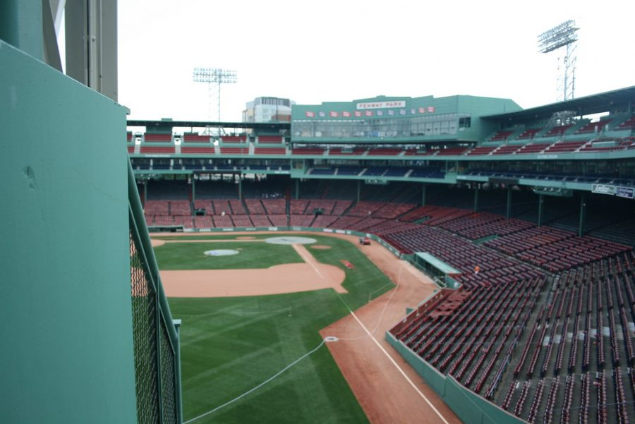 Boston%27s+Fenway+Park%2C+home+of+the+Red+Sox%2C+remains+empty+as+sports+leagues+have+shuttered+during+the+Coronavirus+outbreak.+