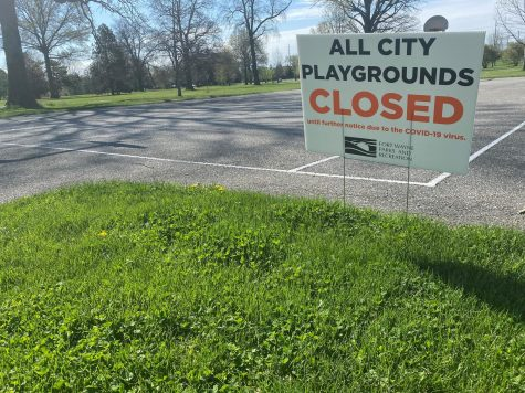Throughout Allen County, public parks were closed because of COVID-19 concerns. The county started relaxing shelter-in-place measures on May 4.