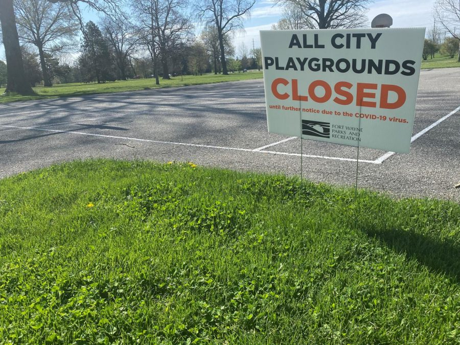 Throughout+Allen+County%2C+public+parks+were+closed+because+of+COVID-19+concerns.+The+county+started+relaxing+shelter-in-place+measures+on+May+4.