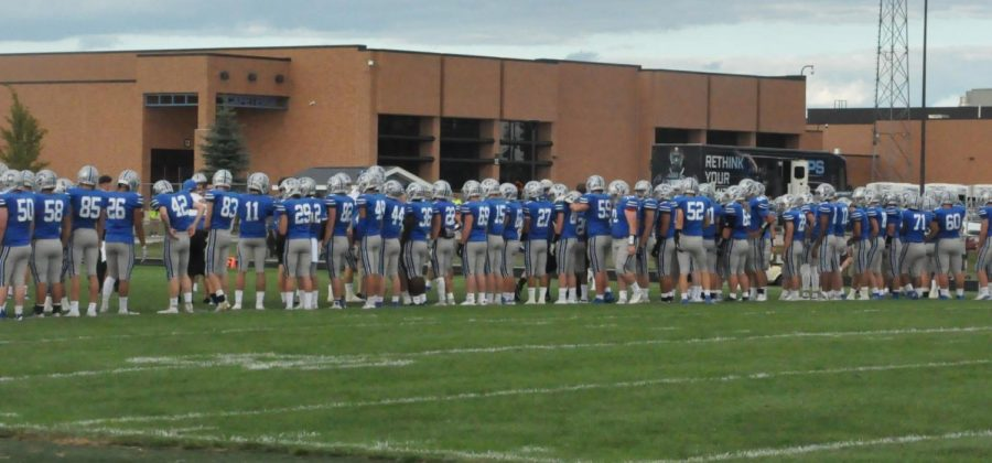 The Chargers prepare for their upcoming game against North Side. Both teams are undefeated at the time of publication.