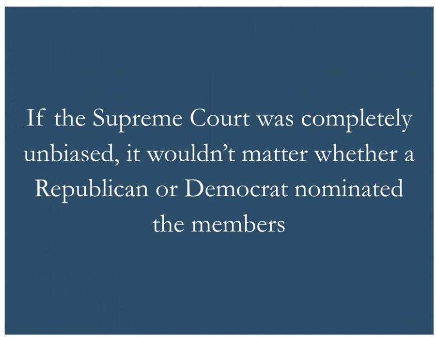 Party politics damage highest court