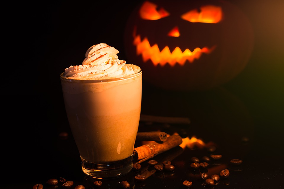 Chocolate Eat Halloween Pumpkin Spice Cocoa Drink